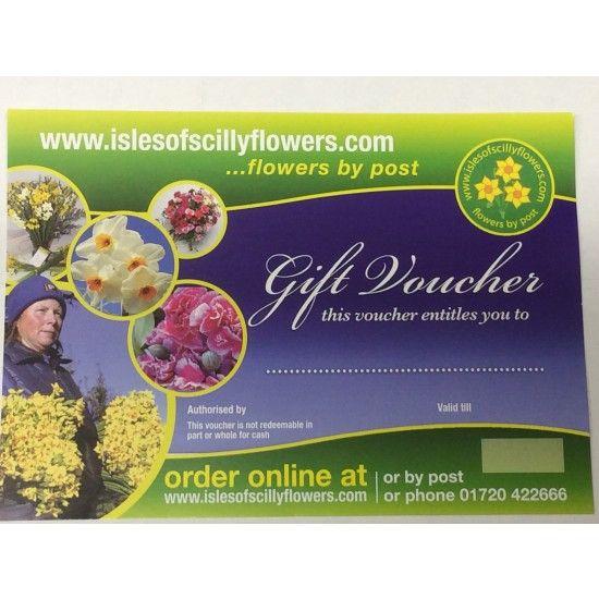 40 Flowers Gift Voucher